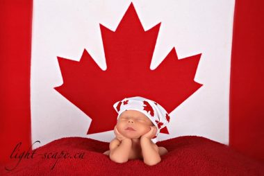 Prince George's Canada Day Baby!!